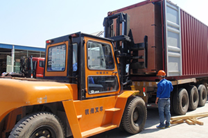 Import customs clearance and local transport